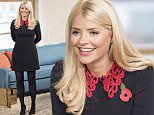 EDITORIAL USE ONLY. NO MERCHANDISING  Mandatory Credit: Photo by Ken McKay/ITV/REX Shutterstock (5300741do)  Ben Shephard and Holly Willoughby  'This Morning' TV Programme, London, Britain - 26 Oct 2015