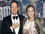 NEW YORK, NY - FEBRUARY 15:  Actor Tom Hanks (L) and Rita Wilson attend SNL 40th Anniversary Celebration at Rockefeller Plaza on February 15, 2015 in New York City.  (Photo by Larry Busacca/Getty Images)