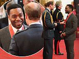 Actor Chiwetel Ejiofor is made a Commander of the Order of the British Empire (CBE) by the Duke of Cambridge at Buckingham Palace, London. PRESS ASSOCIATION Photo. Picture date: Tuesday October 27, 2015. Photo credit should read: Yui Mok/PA Wire