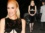 Gwen Stefani spotted wearing a cutout dress while out and about in New York City\n\nPictured: Gwen Stefani\nRef: SPL1161841  261015  \nPicture by: Felipe Ramales / Splash News\n\nSplash News and Pictures\nLos Angeles: 310-821-2666\nNew York: 212-619-2666\nLondon: 870-934-2666\nphotodesk@splashnews.com\n