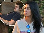 Kourtney Kardashian has dinner with mystery man in Calabassas.\n\nPictured: Kourtney Kardashian \nRef: SPL1160182  251015  \nPicture by: Jacson / Splash News\n\nSplash News and Pictures\nLos Angeles: 310-821-2666\nNew York: 212-619-2666\nLondon: 870-934-2666\nphotodesk@splashnews.com\n