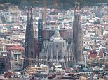 BARCELONA, SPAIN - OCTOBER 26:  'La Sagrada Familia' stands over residential buildings on October 26, 2015 in Barcelona, Spain. 'La Sagrada Familia' Foundation announced on October 21 that the temple has entered final construction phase. The first stone was laid on March 19, 1882 following the Neo-gothic design drawn up by the architect Francisco de Paula del Villar y Lozano, the first architect of the 'Sagrada Familia'. Antoni Gaudi took over the design of the Sagrada Familia in 1883 until his death on June 10, 1926 due to a traffic accident. The main projects being undertaken over the coming years are the construction of the west sacristy, the central towers and the Tower of Jesus which will eventually be crowned with a cross 170 metres above the ground level. According to 'La Sagrada Familia' Foundation, the temple could be finished in the first third of the 21st century. More than 3 million people visit the temple each year.  (Photo by David Ramos/Getty Images)