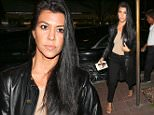 Beverly Hills, CA- Kourtney Kardashian seen arriving at Madeo restaurant for Dinner with a present.\nCREDIT MUST READ: Maciel/AKM-GSI\nAKM-GSI       October 26, 2015\nTo License These Photos, Please Contact :\nSteve Ginsburg\n(310) 505-8447\n(323) 423-9397\nsteve@akmgsi.com\nor\nMaria Buda\n(917) 242-1505\nmbuda@akmgsi.com\n