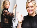 """Hilary Duff and Molly Bernard pictured at the tv series """"Younger"""" set in Downtown, Manhattan.\n\nPictured: Hilary Duff\nRef: SPL1162756  271015  \nPicture by: Jose Perez / Splash News\n\nSplash News and Pictures\nLos Angeles: 310-821-2666\nNew York: 212-619-2666\nLondon: 870-934-2666\nphotodesk@splashnews.com\n"""