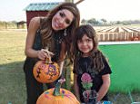 EXCLUSIVE: Farrah Abraham and her daughter Sophia have a blast together at sweet farms pumpkin patch in Texas!  Pictured: Farrah Abraham Ref: SPL1158809  251015   EXCLUSIVE Picture by: Splash News  Splash News and Pictures Los Angeles: 310-821-2666 New York: 212-619-2666 London: 870-934-2666 photodesk@splashnews.com