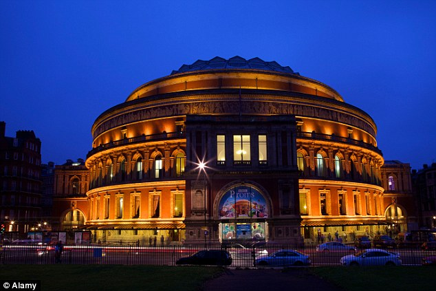 The Royal Albert Hall declined to confirm the amount of the extra cake charge - but under the Hall's booking conditions, extra fees are liable if products of commercial sponsors are promoted inside the building