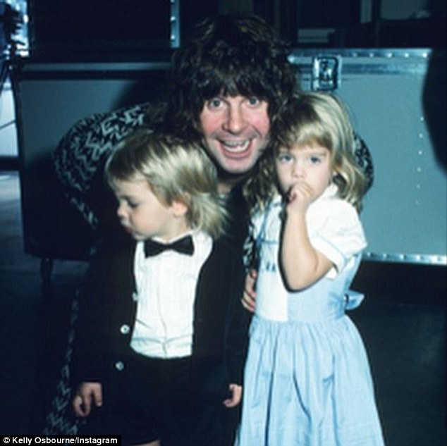 Throwback! Kelly Osbourne shared a vintage photo of father Ozzy and brother Jack circa 1988