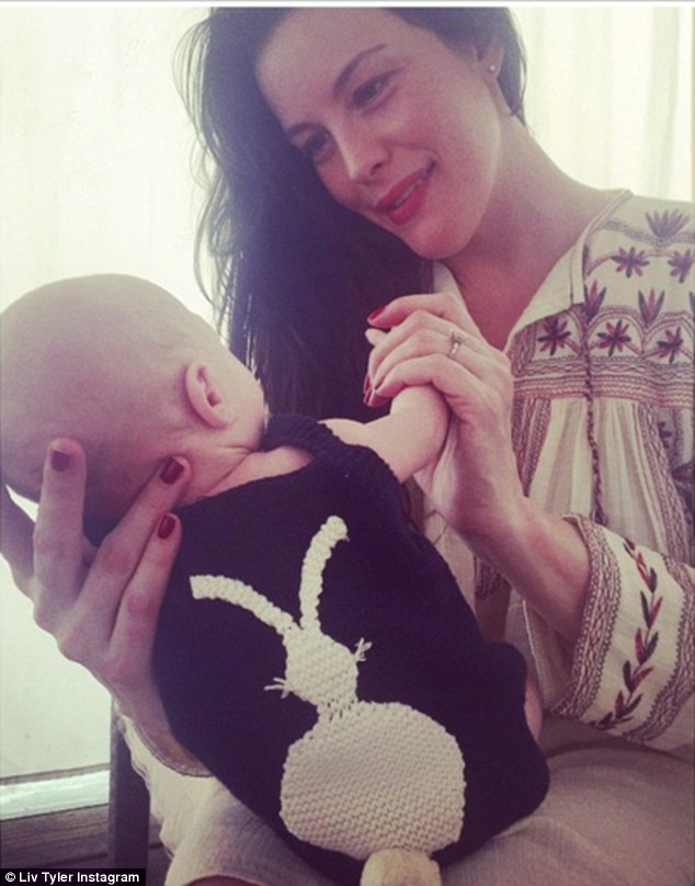 'Beautiful family weekend': Liv Tyler shared a mother-son moment with her newborn son Sailor