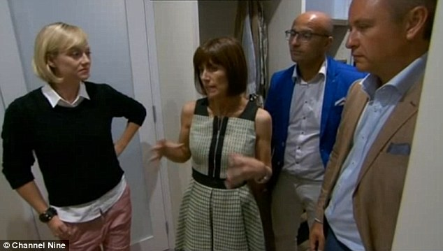 Too small! The advocates told co-host Shelley Craft that Jess and Ayden should have taken some of the space from their en-suite to make a bigger walk-in robe