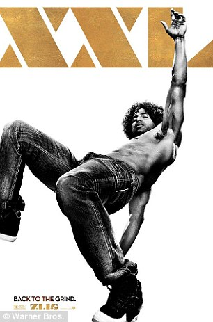 More hot guys: Adam Rodriguez (left) and Stephen 'tWitch' Boss (right) also got shirtless posters