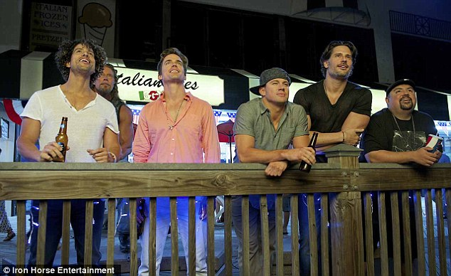 Road trip: Set for a July 1 release, Magic Mike XXL sends the Kings of Tampa on one last road trip before they hang up their thongs