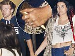 *EXCLUSIVE* Malibu, CA - Paris Jackson wears a ring on her wedding ring finger as she and Chester Castellaw dine at Nobu in Malibu. Thanks to Instagram, rumors are flying that 17-year-old Paris Jackson became a misses! An account that was believed to be handled by the teen caused a stir by adding ìCastellawî to her username ó AKA the last name of her soccer star beau Chester Castellaw. While they haven't tied the knot ó yet! ó the Jackson family allegedly approves of Chester for Paris, as they reportedly plan to get married (eventually). However, as In Touch reported on Thursday, her relatives are allegedly suggesting the young lovebirds look into a prenuptial agreement. \nAKM-GSI      October 27, 2015\n \nTo License These Photos, Please Contact :\n \nSteve Ginsburg\n(310) 505-8447\n(323) 423-9397\nsteve@akmgsi.com\nsales@akmgsi.com\nor\nMaria Buda\n(917) 242-1505\nmbuda@akmgsi.com\nginsburgspalyinc@gmail.com