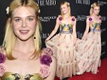 eURN: AD*186038340  Headline: 'Trumbo' film premiere, Los Angeles, America - 27 Oct 2015 Caption: Mandatory Credit: Photo by Buckner/Variety/REX Shutterstock (5313850d)  Elle Fanning  'Trumbo' film premiere, Los Angeles, America - 27 Oct 2015    Photographer: Buckner/Variety/REX Shutterstock Loaded on 28/10/2015 at 02:04 Copyright: REX FEATURES Provider: Buckner/Variety/REX Shutterstock  Properties: RGB JPEG Image (44105K 1039K 42.5:1) 3168w x 4752h at 300 x 300 dpi  Routing: DM News : GeneralFeed (Miscellaneous) DM Showbiz : SHOWBIZ (Miscellaneous) DM Online : Online Previews (Miscellaneous), CMS Out (Miscellaneous)  Parking: