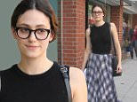 Emmy Rossum has lunch at a deli in Beverly Hills, CA.\n\nPictured: Emmy Rossum\nRef: SPL1162858  271015  \nPicture by: Be Like Water Production \n\nSplash News and Pictures\nLos Angeles: 310-821-2666\nNew York: 212-619-2666\nLondon: 870-934-2666\nphotodesk@splashnews.com\n