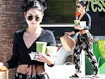 Pictured: Vanessa Hudgens\nMandatory Credit © Bella/Broadimage\n***EXCLUSIVE***\nVanessa Hudgens stops for some breakfast to go at Breakroom Cafe\n\n10/27/15, Studio City, California, United States of America\n\nBroadimage Newswire\nLos Angeles 1+  (310) 301-1027\nNew York      1+  (646) 827-9134\nsales@broadimage.com\nhttp://www.broadimage.com\n