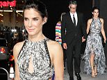 Please contact X17 before any use of these exclusive photos - x17@x17agency.com   Sandra Bullock attends the premiere of Warner Bros. Pictures' 'Our Brand Is Crisis' at TCL Chinese Theatre on October 26, 2015 in Hollywood, California.  Then holds hands with new beau Bryan Randall X17online.com