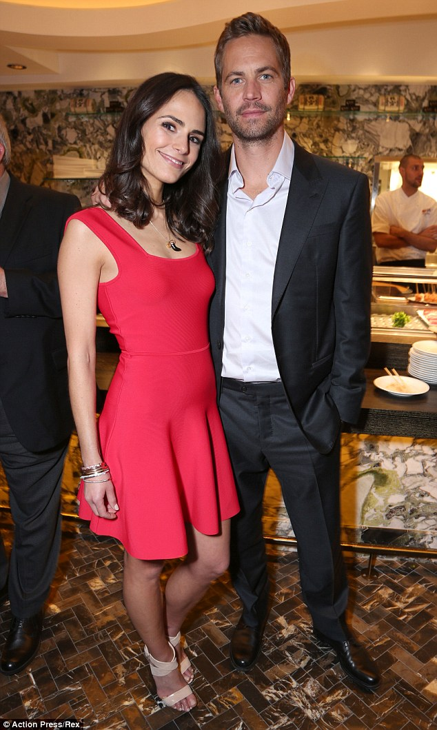 Tough time: Jordana found it emotional to play scenes without her co-star Paul Walker who was killed in a car crash in 2013