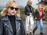 Picture Shows: Michelle Williams, Matilda Ledger  October 28, 2015\n \n Actress Michelle Williams steps out with her daughter Matilda Ledger in New York City, New York. Though the morning was gloomy, Matlida was all smiles as she turned 10 years old today! \n \n Exclusive All Rounder\n UK RIGHTS ONLY\n \n Pictures by : FameFlynet UK © 2015\n Tel : +44 (0)20 3551 5049\n Email : info@fameflynet.uk.com