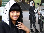 Blac Chyna kept her Future tattoo hidden, still calls him her man and happy to be one of his girls. Tyga and Kylie took a flight out of town eariler. Blac talks to some friends who are following her in a white Range Rover.  October 28, 2015 X17online.com