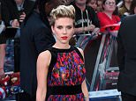 Mandatory Credit: Photo by David Fisher/REX Shutterstock (4691213dj)  Scarlett Johansson  'Avengers: Age of Ultron' European film premiere, London, Britain - 21 Apr 2015  WEARING BALMAIN