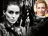 ***EMBARGOED 10/28 6 AM PCT***\n\nLINK BACK: http://www.interviewmagazine.com/film/rooney-mara-november-2015\n\nOn Working With Cate Blanchett:\nMARA: ¿But I remember the first time I saw Cate, in Elizabeth [1998]. I think I was 13. I went to our little local theater with my mom, and I was like, ¿Oh, my God, who is that woman?¿ She¿s just so incredible. It was pretty easy to pretend to be enamored by her. And she¿s quick and witty and funny. She¿s very confident. It¿s amazing. Usually it¿s not that great to meet your idols and work with them; it¿s kind of a letdown. This definitely wasn¿t. She¿s much different than I had in my head, but kind of better, in a way. It was also obviously terrifying. \nCLARK: What were you scared of?\nMARA: Just working with someone who you think is the best at what you do. It¿s terrifying to stand beside them and try to do it with them.\nCLARK: How did you overcome that?\nMARA: I didn¿t try to overcome it, because it works for our dynamic in the movie, so
