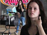 Picture Shows: Rachel Bilson  October 27, 2015\n \n Actress and busy mom Rachel Bilson stocks up on groceries at Ralph's in Burbank, Calfiornia. \n \n Missing from the errand was her long-time partner Hayden Christensen and their daughter Briar.\n \n Exclusive - All Round\n UK RIGHTS ONLY\n \n Pictures by : FameFlynet UK © 2015\n Tel : +44 (0)20 3551 5049\n Email : info@fameflynet.uk.com