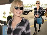 LOS ANGELES, CA - OCTOBER 27: Sharon Stone is seen at LAX on October 27, 2015 in Los Angeles, California.  (Photo by GVK/Bauer-Griffin/GC Images)