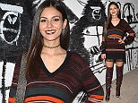 Victoria Justice Leaves The rebecca Minkoff Flagship Store Open on Melrose  Pictured: Victoria Justice Ref: SPL1162361  271015   Picture by: All Access Photo  Splash News and Pictures Los Angeles: 310-821-2666 New York: 212-619-2666 London: 870-934-2666 photodesk@splashnews.com