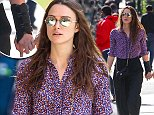 Hurt wrist!! Keira Knightley hold hands with husband James Righton while out and about in NYC\n\nPictured: Keira Knightley , James Righton\nRef: SPL1163903  291015  \nPicture by: Splash News\n\nSplash News and Pictures\nLos Angeles: 310-821-2666\nNew York: 212-619-2666\nLondon: 870-934-2666\nphotodesk@splashnews.com\n