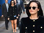 Demi Lovato Makes Fans Happy at Good Morning America in New York City\n\nPictured: Demi Lovato\nRef: SPL1164088  291015  \nPicture by: @JDH Imagez / Splash News\n\nSplash News and Pictures\nLos Angeles: 310-821-2666\nNew York: 212-619-2666\nLondon: 870-934-2666\nphotodesk@splashnews.com\n