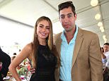 BRIDGEHAMPTON, NY - SEPTEMBER 01:  Sofia Vergara and Nick Loeb attend the 38th Annual Hampton Classic Horse Show - Grand Prix Sunday on September 1, 2013 in Bridgehampton, New York.  (Photo by Sonia Moskowitz/Getty Images)