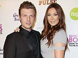 Mandatory Credit: Photo by Matt Baron/BEI/REX Shutterstock (4393836w).. Nick Carter and Lauren Kitt.. Backstreet Boys 'Show 'em What You're Made of' documentary screening, Los Angeles, America - 29 Jan 2015.. ..