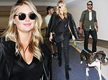 Los Angeles, CA - Blonde babe Kate Upton and Justin Verlande arrive at LAX with their dog ahead of a departing flight.\nAKM-GSI          October 27, 2015\nTo License These Photos, Please Contact :\nSteve Ginsburg\n(310) 505-8447\n(323) 423-9397\nsteve@akmgsi.com\nsales@akmgsi.com\nor\nMaria Buda\n(917) 242-1505\nmbuda@akmgsi.com\nginsburgspalyinc@gmail.com