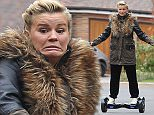 Picture Shows: Kerry Katona  October 23, 2015    ** Min Web / Online fee £50 Per Frame**    Atomic Kitten singer Kerry Katona is spotted getting to grips with a brand new mega board with the help of two of her five children near her new home in Crowborough, East Sussex.    The star appears to be soldiering on despite her recent marriage split - she separated from her husband of one year, George Kay, earlier this month after a domestic dispute.    ** Min Web / Online fee £50 Per Frame**    Exclusive All Rounder  WORLDWIDE RIGHTS  FameFlynet UK © 2015  Tel : +44 (0)20 3551 5049  Email : info@fameflynet.uk.com