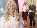 EDITORIAL USE ONLY. NO MERCHANDISING\n Mandatory Credit: Photo by Ken McKay/ITV/REX Shutterstock (5324224cm)\n Holly Willoughby and Ben Shephard\n 'This Morning' TV Programme, London, Britain - 29 Oct 2015\n \n