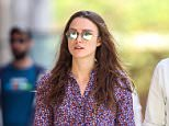 Hurt wrist!! Keira Knightley hold hands with husband James Righton while out and about in NYC  Pictured: Keira Knightley , James Righton Ref: SPL1163903  291015   Picture by: Splash News  Splash News and Pictures Los Angeles: 310-821-2666 New York: 212-619-2666 London: 870-934-2666 photodesk@splashnews.com