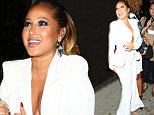 Adrienne Bailon shows Major Cleavage while arriving to Warwick Nightclub with friends  Pictured: Adrienne Bailon  Ref: SPL1162370  291015   Picture by: Holly Heads LLC / Splash News  Splash News and Pictures Los Angeles: 310-821-2666 New York: 212-619-2666 London: 870-934-2666 photodesk@splashnews.com