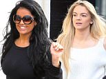X factor arrive at Wembley for Live show rehearsals Featuring: lauren Murray, louisa Johnson Where: London, United Kingdom When: 29 Oct 2015 Credit: WENN.com