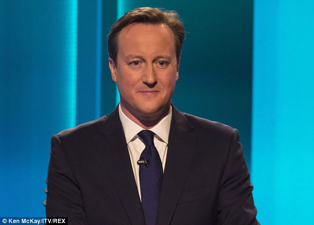 David Cameron sounded more polite than posh during the leaders' TV debates and looked like a man who know the price of a pint of milk