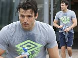 """Picture Shows: Mark Wright  October 29, 2015    * Min Web / Online Fee £150 For Set **    Mark Wright seen working up a sweat at the gym in Essex. Mark clearly had a tough work out as he exited the gym soaked in sweat and chugging from a water bottle.    Mark messaged to his fans on Instagram: """"... I have to have an op on my foot. Only thing to do. Hit the gym hard, before being bed bound...""""    * Min Web / Online Fee £150 For Set **    Exclusive All Rounder  Worldwide Rights  FameFlynet UK © 2015  Tel : +44 (0)20 3551 5049  Email : info@fameflynet.uk.com"""