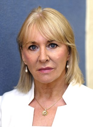 Nadine Dorries, Tory MP for Mid Bedfordshire