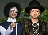 US singer Prince attends the French tennis Open round of sixteen match between Spain's Rafael Nadal and Serbia's Dusan Lajovic at the Roland Garros stadium in Paris on June 2, 2014.  \n\nAFP PHOTO / PATRICK KOVARIKPATRICK KOVARIK/AFP/Getty Images