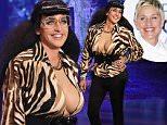 \nTalk show host Ellen DeGeneres hosts her annual Halloween show airing Friday, October 30th.  Ellen unveils her hilarious costume of the lesser known Kardashian sister, Karla.\n