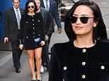 Demi Lovato Makes Fans Happy at Good Morning America in New York City\n\nPictured: Demi Lovato\nRef: SPL1164088  291015  \nPicture by: @JDH Imagez / Splash News\n\nSplash News and Pictures\nLos Angeles: 310-821-2666\nNew York: 212-619-2666\nLondon: 870-934-2666\nphotodesk@splashnews.com\n
