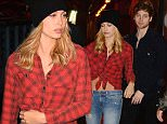 Hailey Baldwin and Luke Hemmings from 5 Seconds of Summer are seen arriving together Cipriani Restaurant \n\nPictured: Hailey Baldwin and Luke Hemmings t \nRef: SPL1164062  281015  \nPicture by: @JDH Imagez / Splash News\n\nSplash News and Pictures\nLos Angeles: 310-821-2666\nNew York: 212-619-2666\nLondon: 870-934-2666\nphotodesk@splashnews.com\n