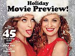 Entertainment Weekly Holiday Movie Preview issue with Tina Fey and Amy Poehler