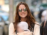 Mandatory Credit: Photo by Kristin Callahan/ACE/REX Shutterstock (5333477m)  Keira Knightley, Edie Righton, Sharman Macdonald  Keira Knightley out and about, New York, America - 30 Oct 2015