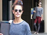 Pictured: Alessandra Ambrosio Mandatory Credit � SPI/Broadimage Alessandra Ambrosio goes to pilates class in Los Angeles  10/28/15, Los Angeles, California, United States of America  Broadimage Newswire Los Angeles 1+  (310) 301-1027 New York      1+  (646) 827-9134 sales@broadimage.com http://www.broadimage.com