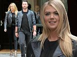 Kate Upton and boyfriend Justin Verlander spotted in NYC. The adorable couple were spotted leaving their hotel together in NYC's SoHo neighborhood on Thursday afternoon.\n\nPictured: Kate Upton, Justin Verlander\nRef: SPL1156846  291015  \nPicture by: Bowery Boys / Splash News\n\nSplash News and Pictures\nLos Angeles: 310-821-2666\nNew York: 212-619-2666\nLondon: 870-934-2666\nphotodesk@splashnews.com\n