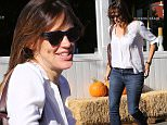 """Brentwood, CA - Jennifer Garner spends her Thursday morning out and about in Brentwood. The actress stops by Country Mart. Jennifer is wearing a shirt with the letters """"JA"""" embroidered on the pocket. Could it stand for Jennifer Affleck? It is rumored that Jennifer and Ben Affleck are working hard to repair their marriage. Perhaps Jennifer is having second thoughts about the divorce?\n  \nAKM-GSI     October 29,  2015\nTo License These Photos, Please Contact :\nSteve Ginsburg\n(310) 505-8447\n(323) 423-9397\nsteve@akmgsi.com\nsales@akmgsi.com\nor\nMaria Buda\n(917) 242-1505\nmbuda@akmgsi.com\nginsburgspalyinc@gmail.com"""